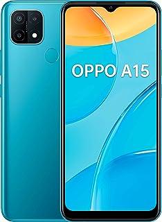 "OPPO A15 - Smartphone de 6.52"" HD+, 3GB/32GB, Octa-core, cámara trasera 13MP+2MP+2MP, cámara frontal 5 MP, 4.230 mAh, Android 10, color Azul"