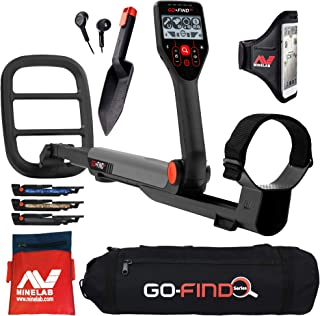 Minelab GO FIND 66 Detector Bundle with Carry Bag & Treasure Finds Pouch