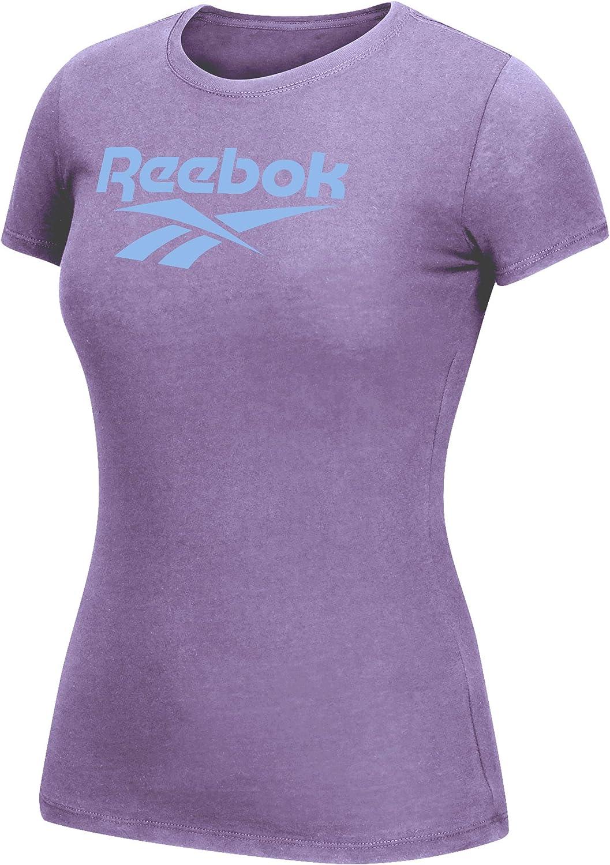 Reebok Damen WMNS Global Blank Vneck T Shirt
