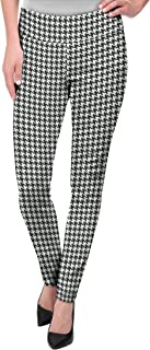 houndstooth pattern pants
