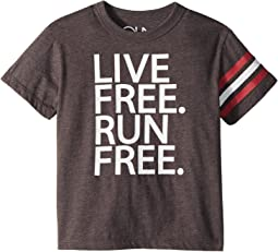 Vintage Jersey Live Free Tee (Toddler/Little Kids)
