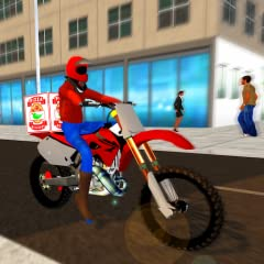 🍕 Ride on realistic Pizza bike simulator. 🍕 Challenging Missions & simulation. 🍕 Rush Drive through city jam packed roads. 🍕 Smooth controls and physics. 🍕 Easy and exciting game play.