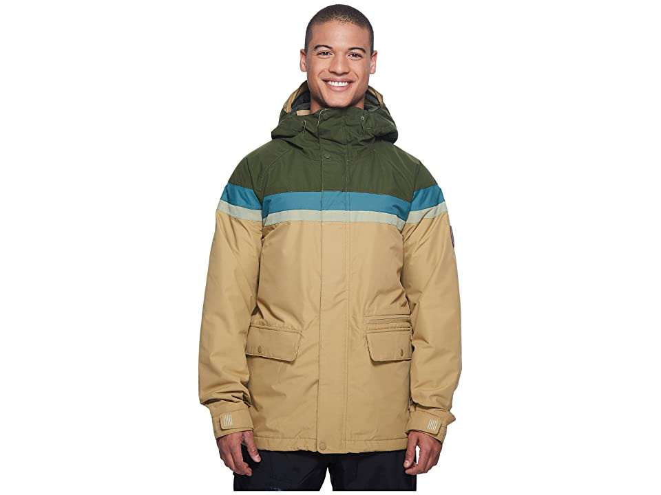Burton Docket Jacket (Rifle Green/Jasper/Olive Branch Distress/Kelp) Men