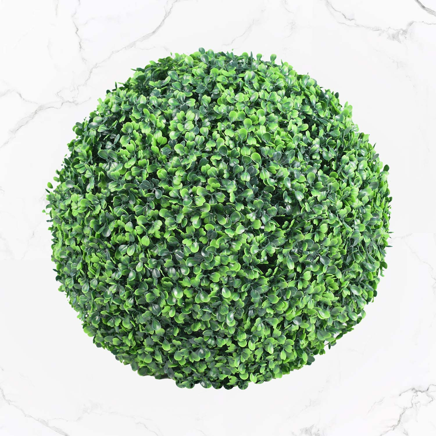 Funland 15 Inch Round Free Shipping Cheap Bargain Gift Faux Boxwood Piece Ball Max 43% OFF Art UV-Protected 1