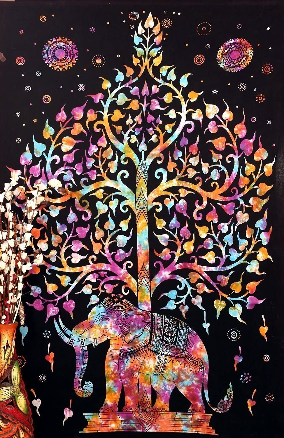 Ranking TOP13 Popular Handicrafts Columbus Mall Tree of Life Psychedelic Wall Hangi Tapestry