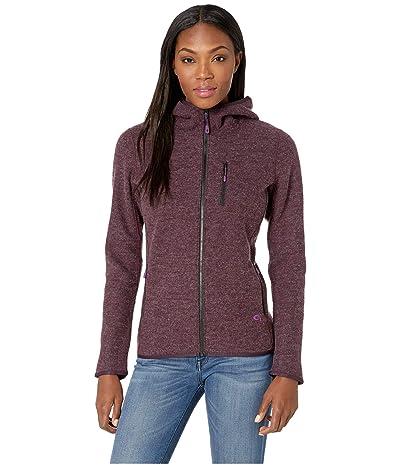 Mountain Hardwear Hatcher Full Zip Hoodie (Dark Tannin) Women