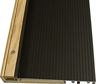 Exterior Inswing Threshold - Hardwood Cap- 7 13/16