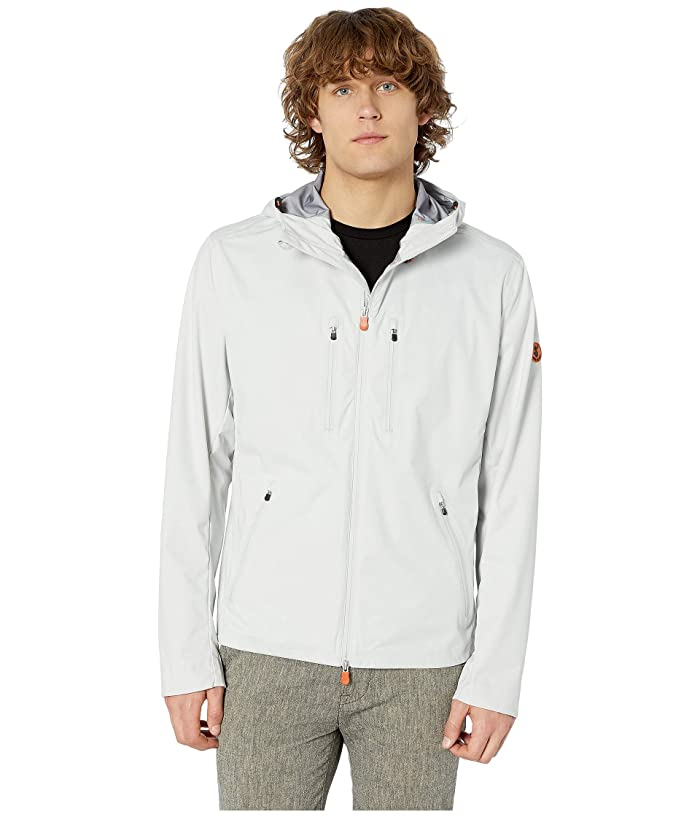 Save the Duck Short Rain Jacket (Coconut White) Men