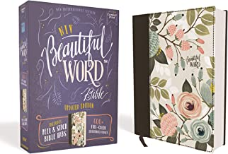 NIV, Beautiful Word Bible, Updated Edition, Peel/Stick Bible Tabs, Cloth over Board, Floral, Red Letter, Comfort Print: 600+ Full-Color Illustrated Verses PDF