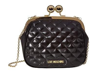 LOVE Moschino Evening Shoulder Bag (Black) Handbags