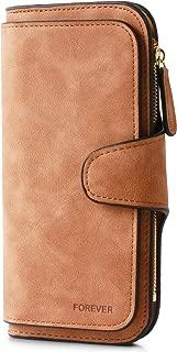 Women Purse Fashion PU Leather Clutch Ladies Purse Credit Card Holder Wallet Organizer