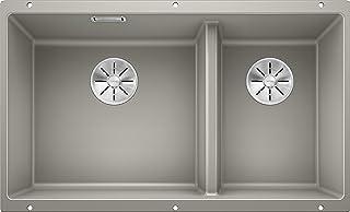 Blanco 铂浪高 523154 SUBLINE 430/270-U 厨房水槽 珍珠灰 430/270 毫米 水槽宽度