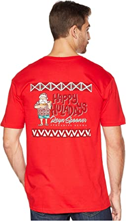 Ukulele Santa Short Sleeve T-Shirt
