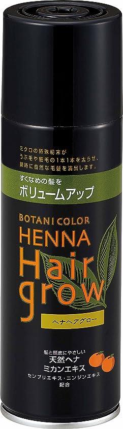 小麦知的触覚ヘナヘアグロー スプレー式染毛料 ブラウン 150g
