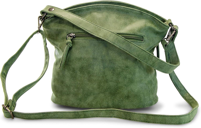 Marc Shoes Brest, Sac porté main Vert (Synthetics Green)