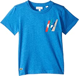 Short Sleeve Multicolor Animation Tee Shirt (Toddler/Little Kids/Big Kids)