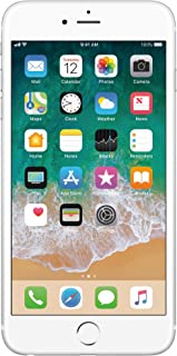 Apple iPhone 6s Plata 64 GB (Renewed)