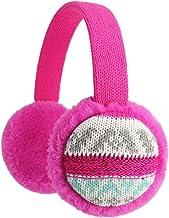 Flammi Unisex Kids Knit Earmuffs Outdoor Furry Ear Warmers