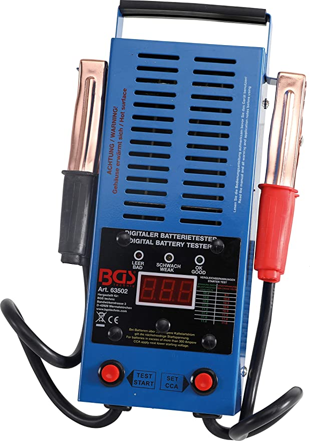 Bgs 63500 Digitaler Batterie Tester Baumarkt