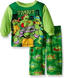 Boys' TMNT 2-Piece Fleece Pajama Set