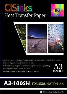 CISinksTM 100 hojas A3 impresora de inyección de tinta de ...