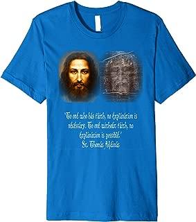 Jesus Shroud of Turin Mandylion Holy Face St Thomas Aquinas