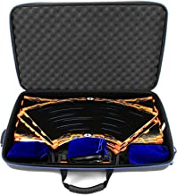 Casematix Garage Box Case Compatible with Anki Overdrive Starter Kit Tracks or Fast and Furious Edition and Expansion Tracks , Supercars , Charging System and More , Includes 3 Cloth Bags with Case