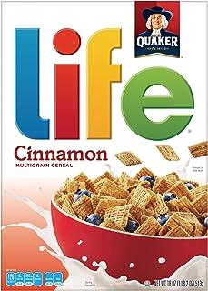 Quaker Life Cereal, Cinnamon, 18 Ounce