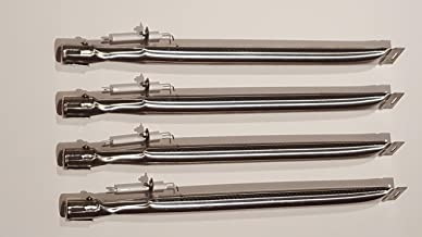 Set of 4 Stainless Steel Burners with Electrodes for Backyard Grill Model BY13-101-001-12, GBC1349W, GBC1449W