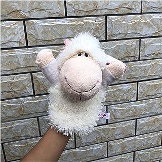パペット人形玩具 25cmのぬいぐるみ手の人形の羊のポニーの馬手の人形の幻想的な赤ちゃん早い教育のおもちゃ