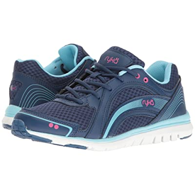 Ryka Aries (Jet Ink Blue/Zuma Pink/Petit) Women