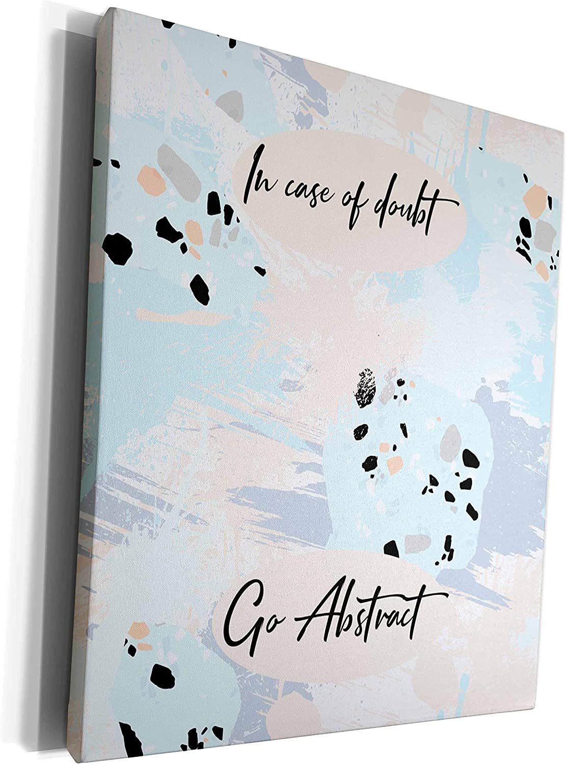 3dRose Super sale period limited Alexis Design - Inspirational In of go doubt abstr 25% OFF case