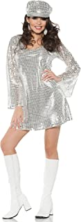 Adult Sexy Shimmer Sequin Mini Dress Sexy Costume