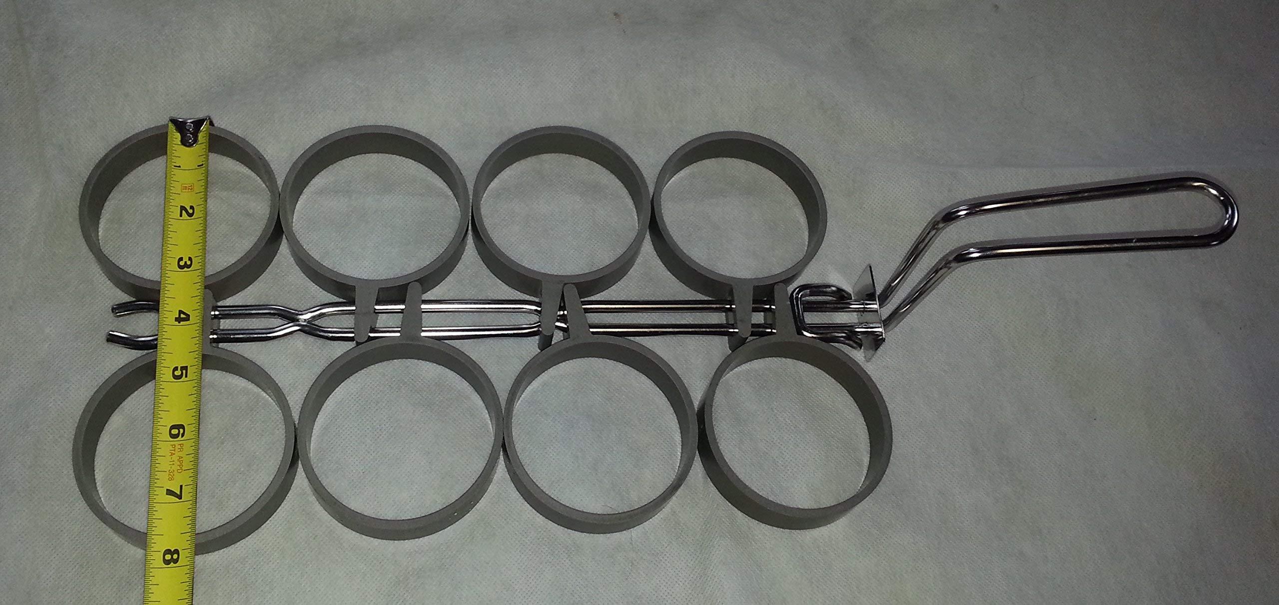 5001602-8 rings 8 ring commercial egg ring