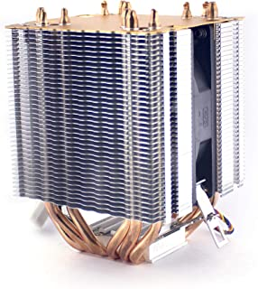 CircuitMagic CPU cooler with 6 copper heat pipes Compatible with INTEL / AMD