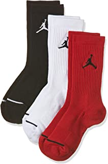 Nike Jordan Jumpman Dri-Fit Crew Socks 3 Pack Multi...