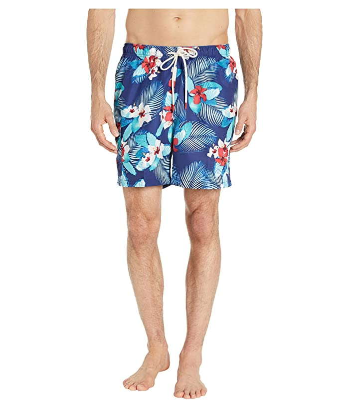 Tommy Bahama Naples Monterosso Beach Swim Trunk (Kingdom Blue) Men