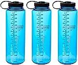 Nalgene HDPE Trinkflasche, weites Mundstück, BPA-frei, 1,42 l, Unisex-Erwachsen