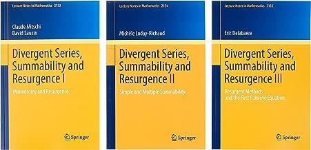 Divergent Series, Summability and Resurgence I-III