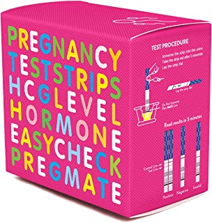 PREGMATE 100 Pregnancy HCG Test Strips (100 HCG)