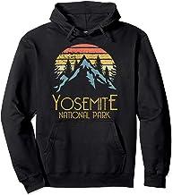 Vintage Yosemite National Park California Hoodie