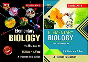 Trueman Elementary Biology for NEET - Class XI & XII - Vol. 1 & 2 (Set of 2 books)