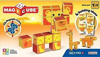 Geomag 135 Magicube Safari Park - Magnetic Construction Cubes