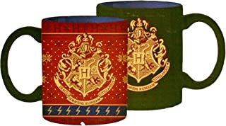 Hogwarts Heat Reveal Changing Ceramic Mug in Red and Green
