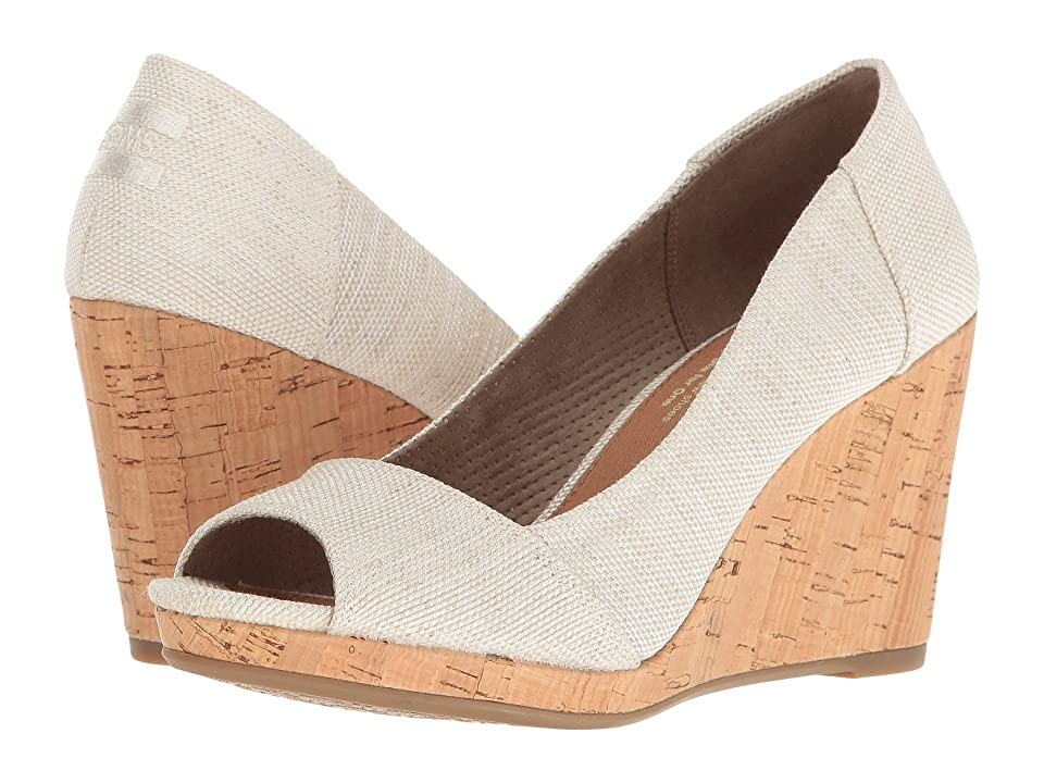 TOMS Stella Wedge (Natural Yarn-Dye) Women's Wedge Shoes