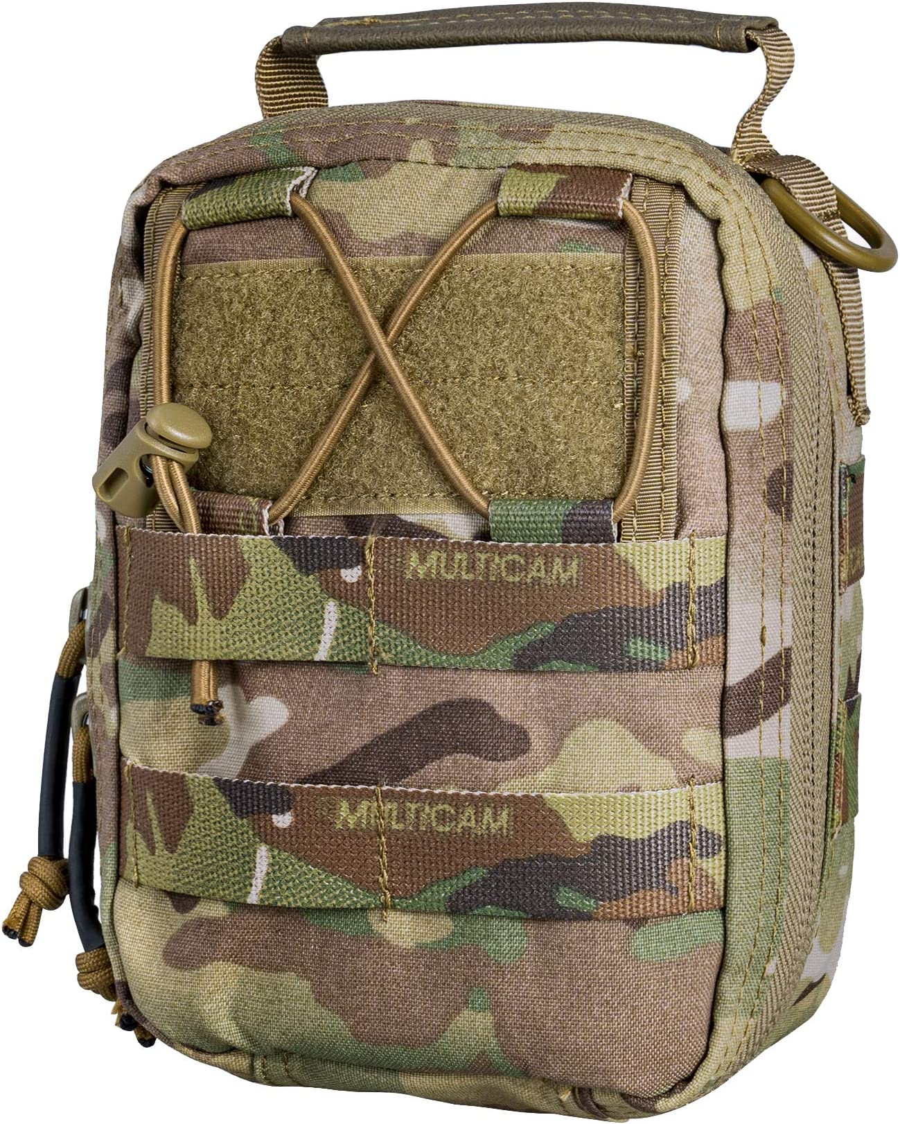 Utility Tactical Airsoft Pouch Military Camping Hiking Molle Mesh Bag Camo