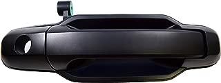 PT Auto Warehouse KI-3550P-FR - Outside Exterior Outer Door Handle, Primed Black - Passenger Side Front
