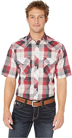 2793 Red, White and Blue Plaid