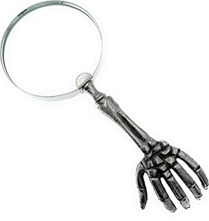 Skeleton Hand Magnifying Glass