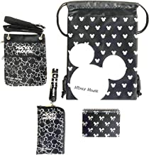 Trip to Disney Land Mickey Mouse Fun Pack Bundle - Set of 4 (Silver Head)